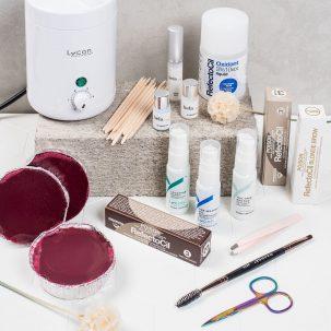 Eyebrow Wax and Tint Kit