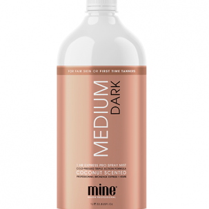 MineTan Medium Dark Pro Spray Tan Soution